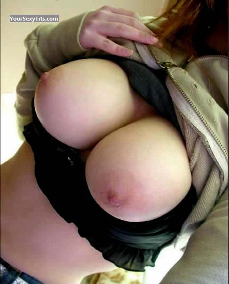 Tit Flash: My Very Big Tits (Selfie) - Jenny from United States