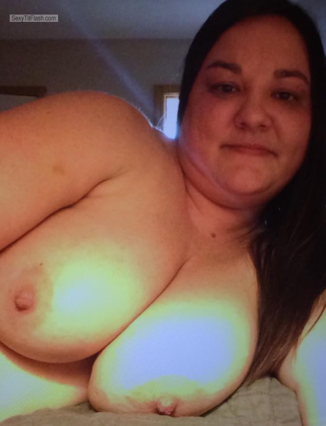 My Very big Tits Topless Selfie by Megan Marmet