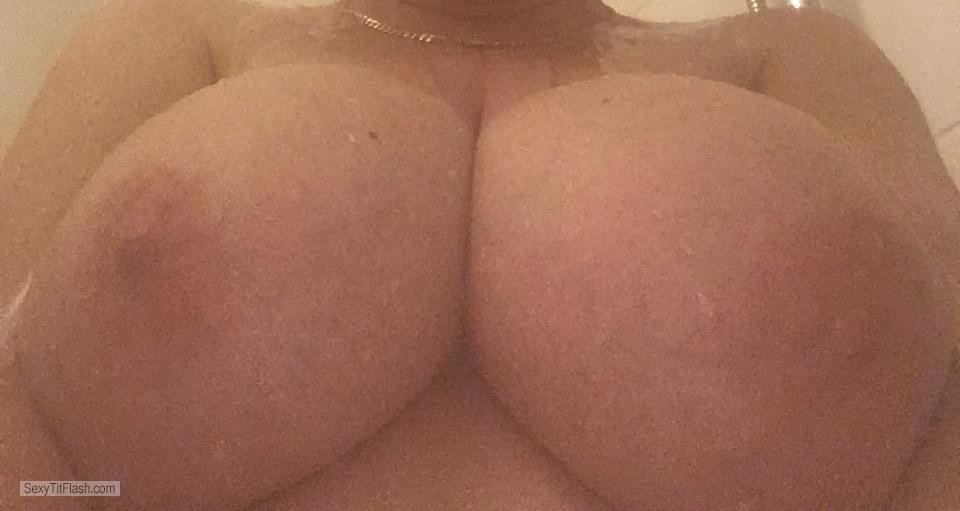 Very big Tits Of My Wife Selfie by Wife's Awesome Tits