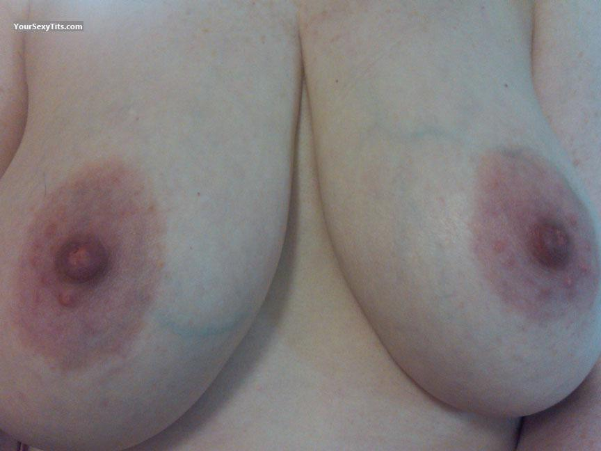 Tit Flash: My Very Big Tits (Selfie) - PrettyNYC from United States