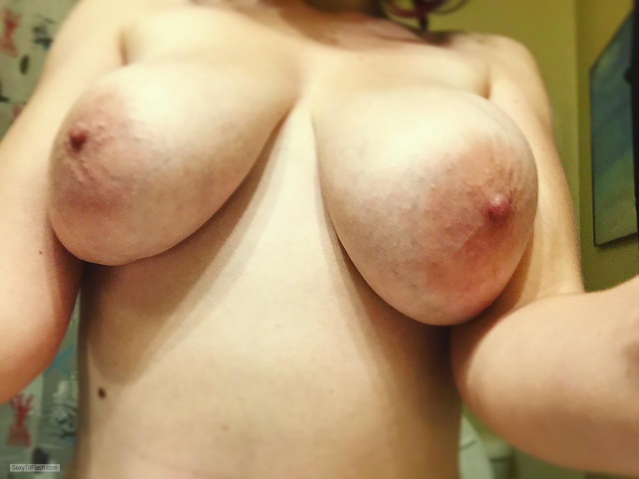 Tit Flash: My Very Big Tits - Holly from United Kingdom