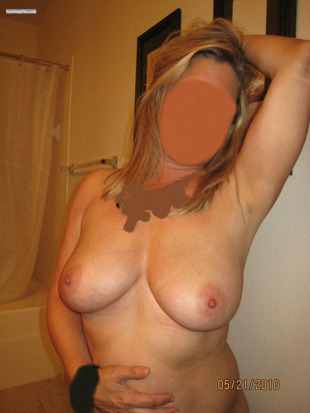 Tit Flash: Medium Tits - Natural50 from United States