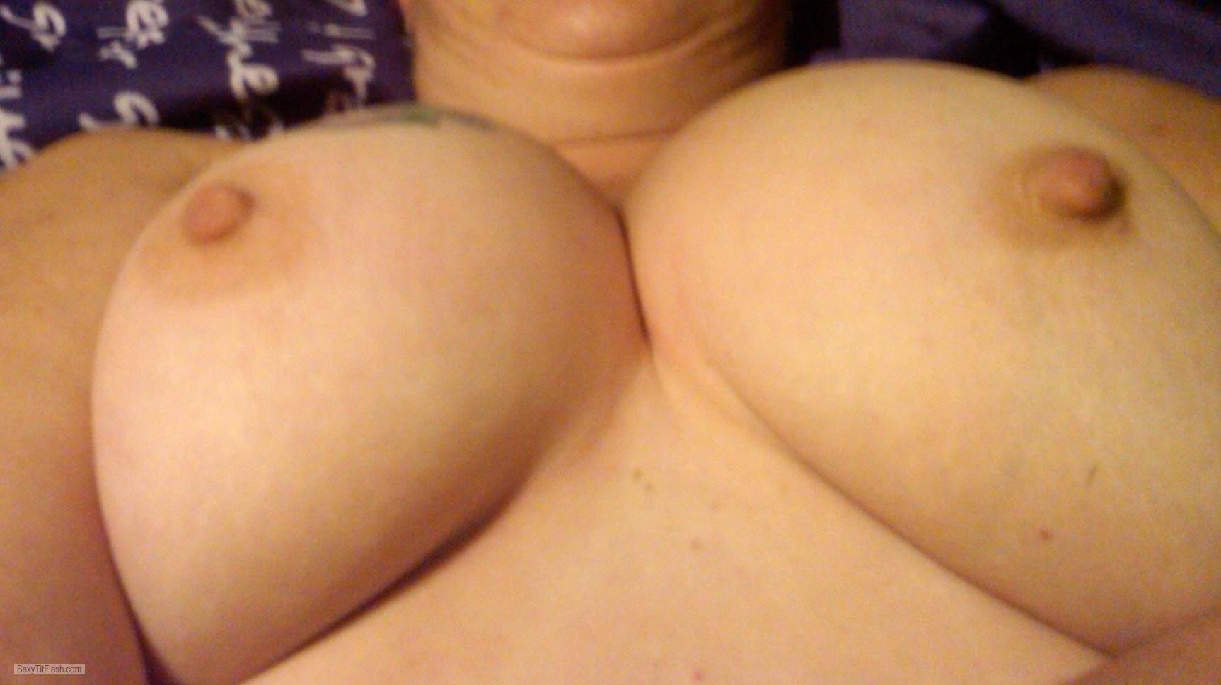 Very big Tits Of A Friend Selfie by NipLip