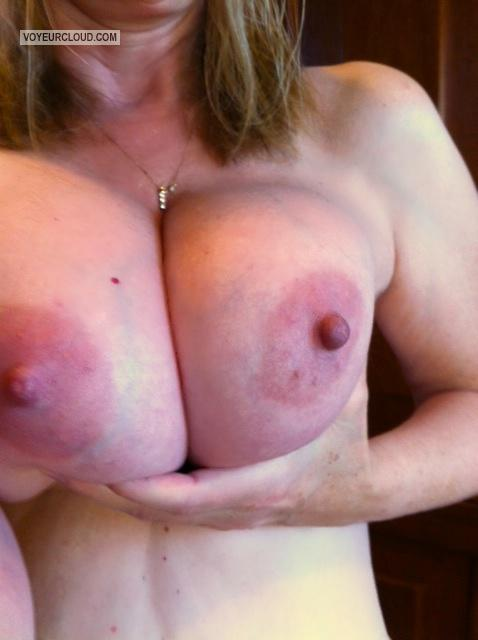 Very big Tits Of My Wife Selfie by Randymann