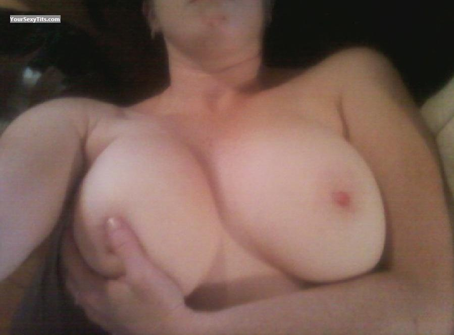 Tit Flash: My Very Big Tits (Selfie) - Happy from United States