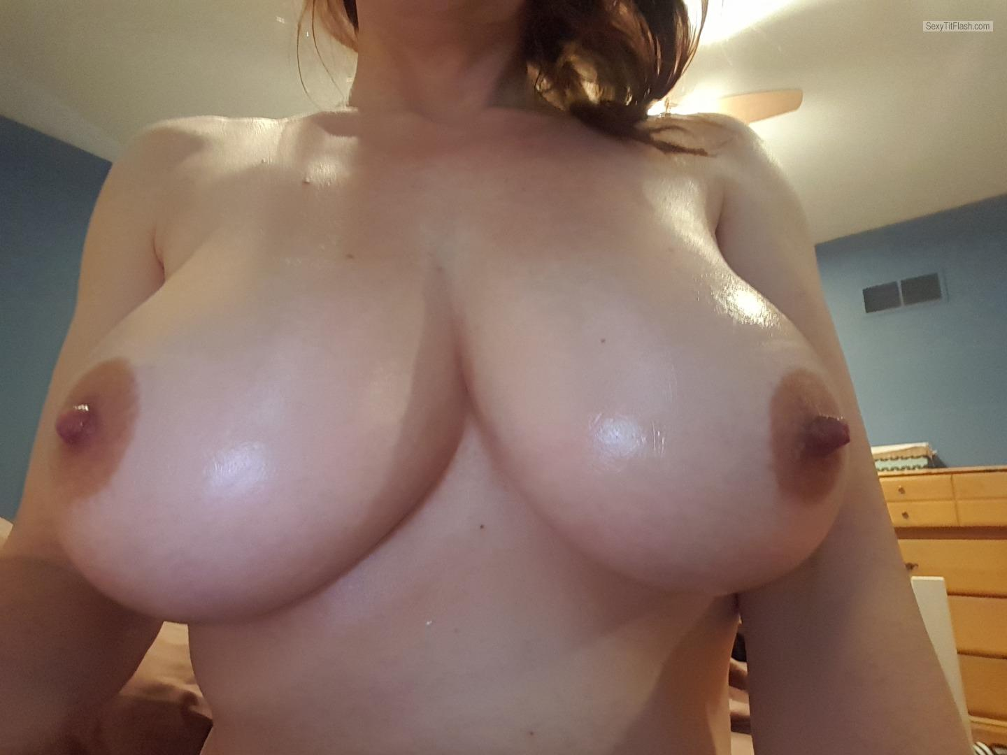 My Very big Tits Selfie by DD