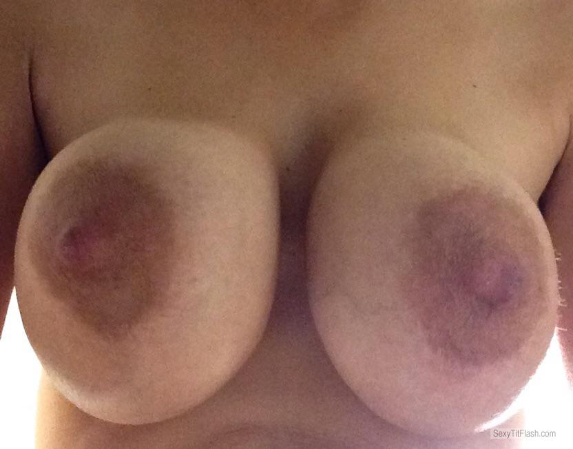 Very big Tits Of My Wife Selfie by Mystery