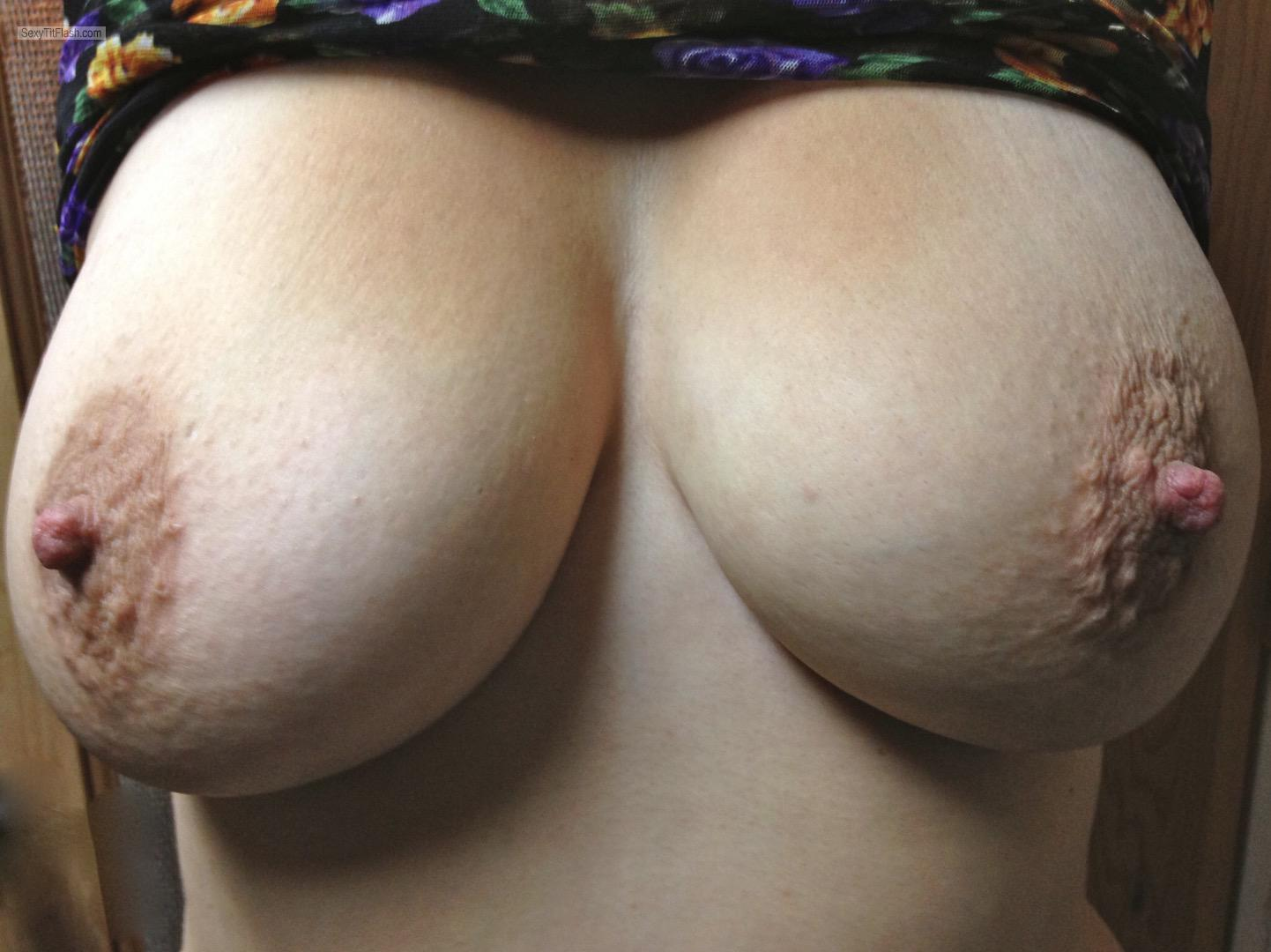 My Very big Tits Selfie by Bigtitsfuckya