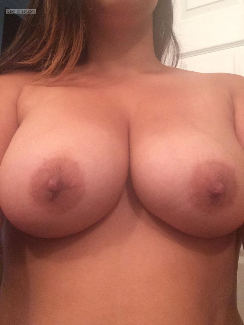 My Very big Tits Selfie by All Natural Double D's