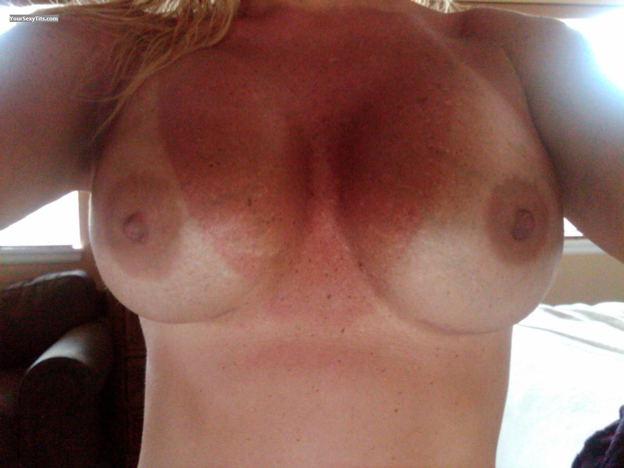 Tit Flash: My Very Big Tits (Selfie) - Flossy from United States