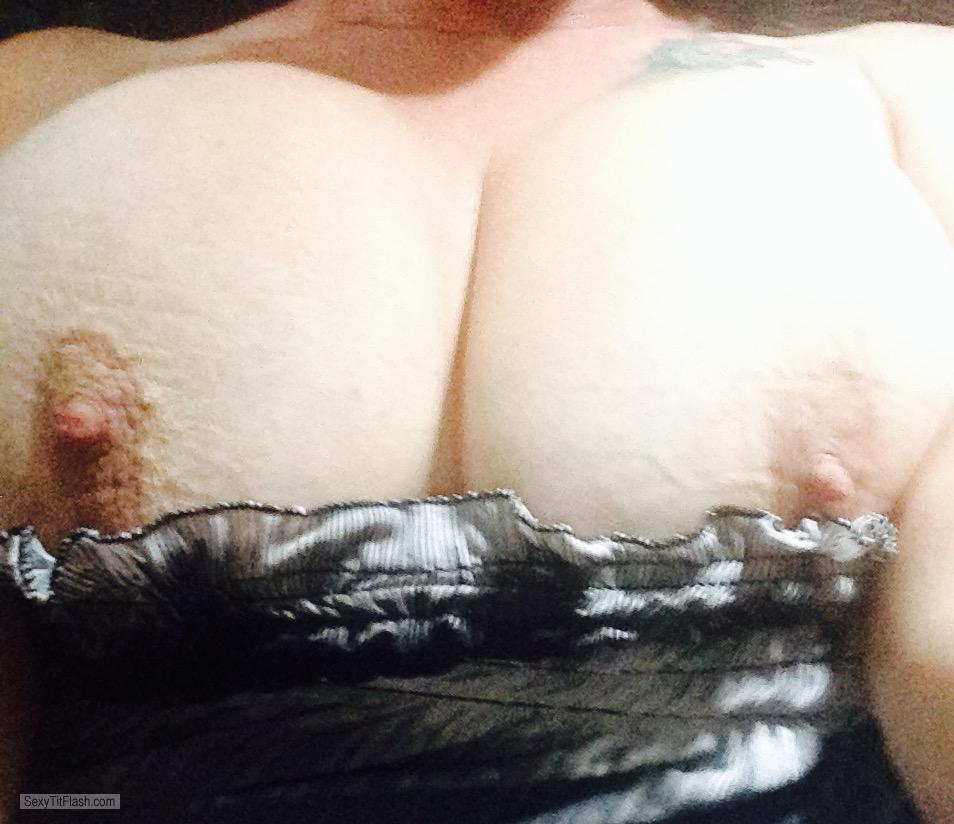 Tit Flash: My Very Big Tits (Selfie) - Joie from United States