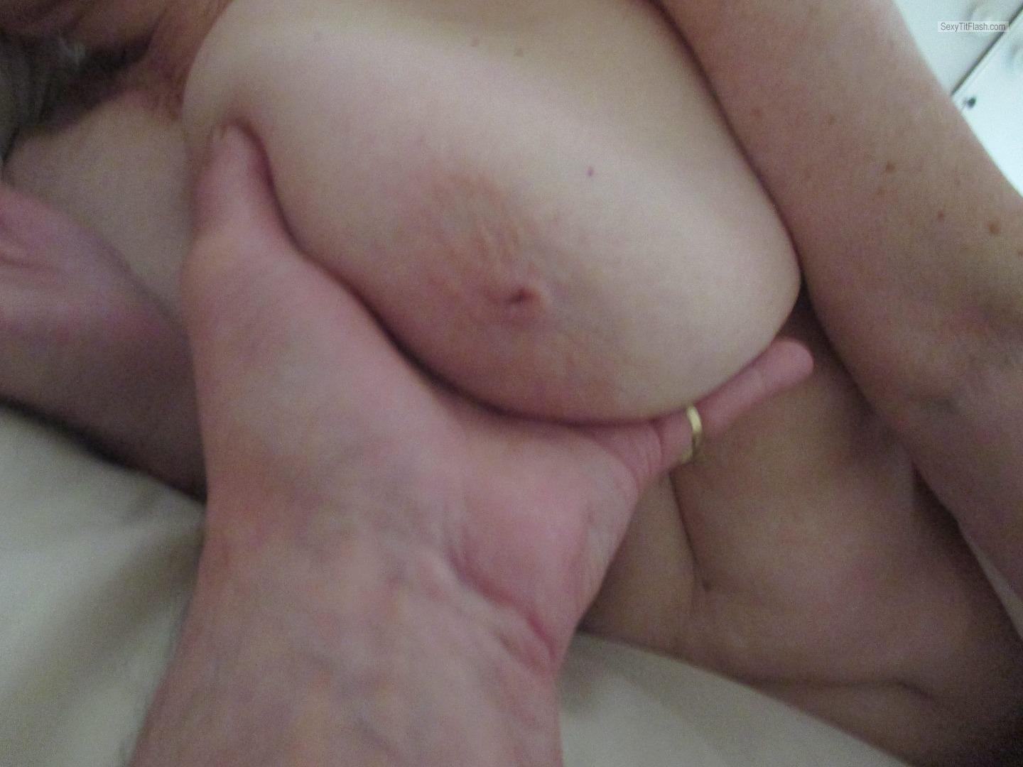 Very big Tits Of My Wife Sue