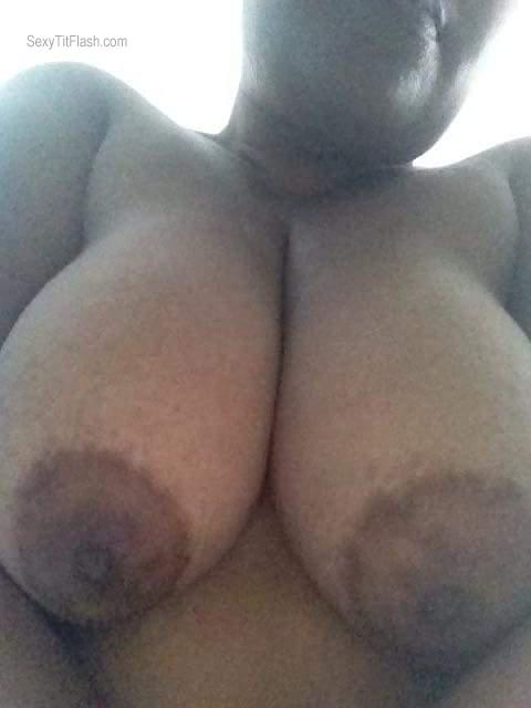 Tit Flash: My Very Big Tits (Selfie) - Asusu from American Samoa
