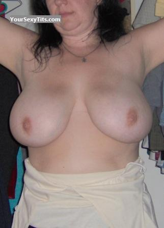 Tit Flash: Wife's Very Big Tits - Stackk from Canada