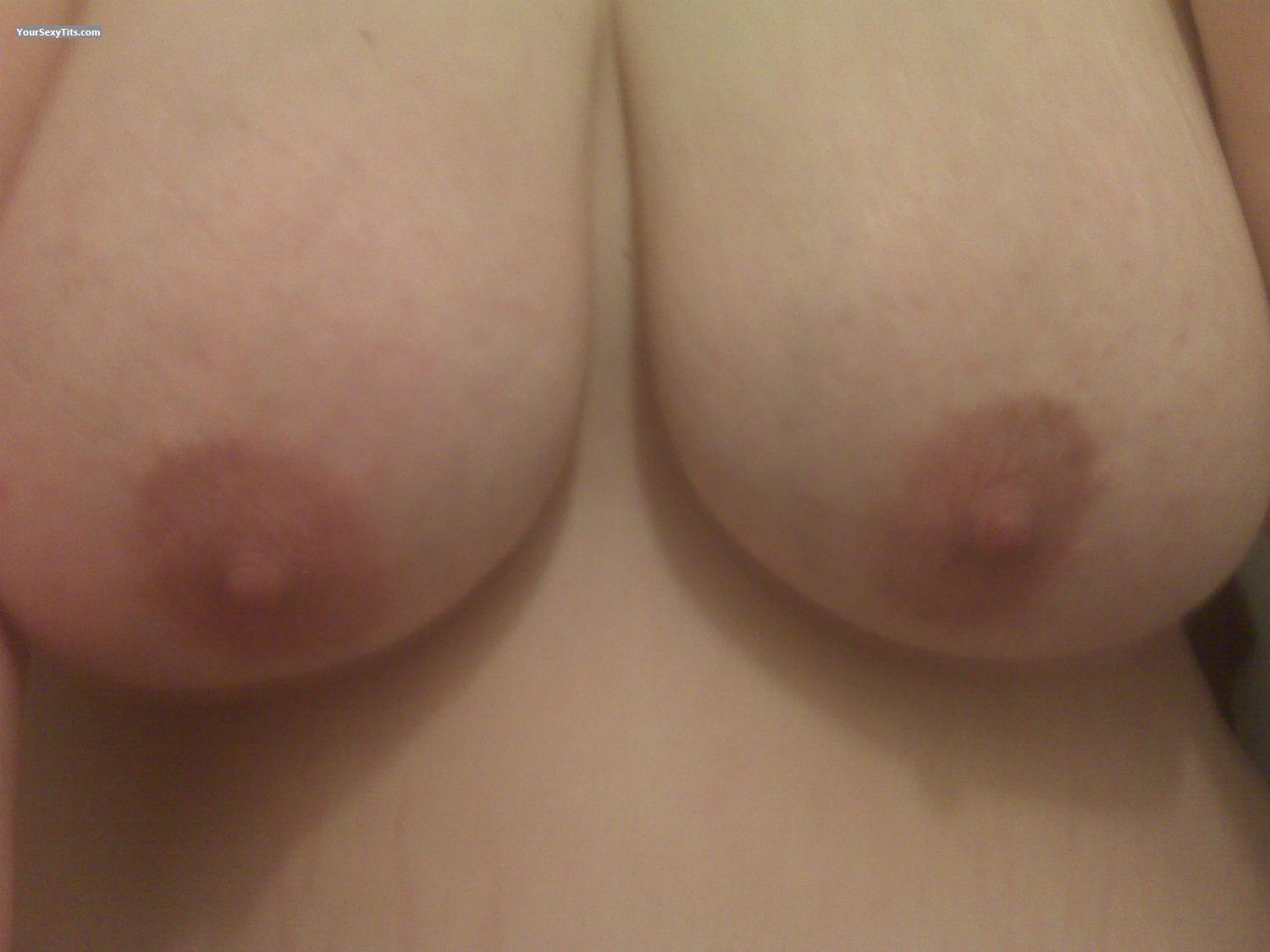 Tit Flash: My Very Big Tits (Selfie) - Naughty Beth from United States