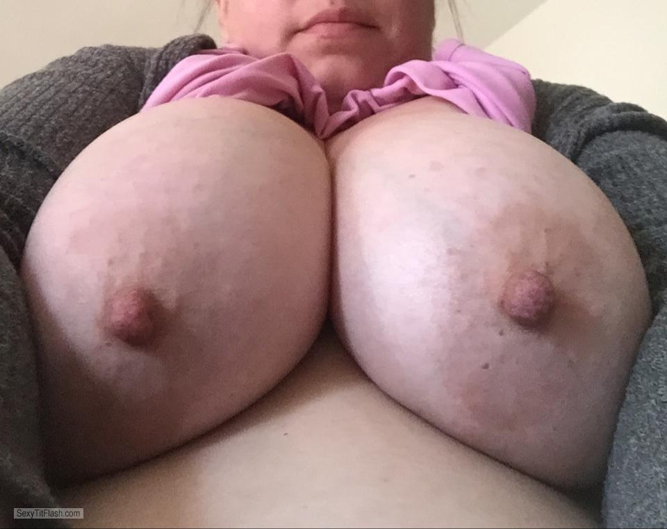 My Very big Tits Topless Luv My DDD's