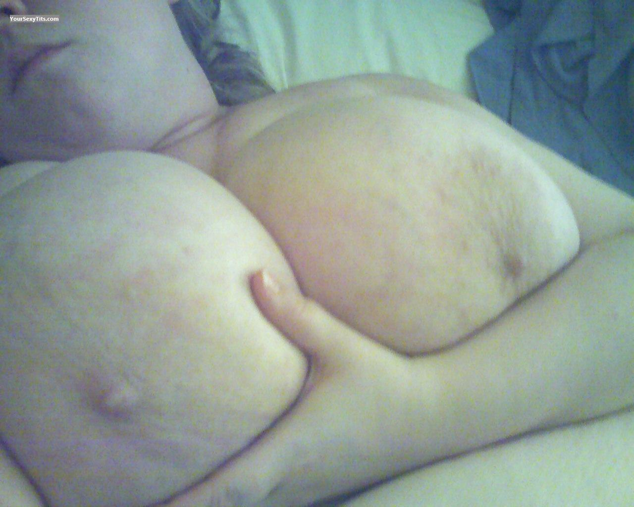 Tit Flash: My Very Big Tits (Selfie) - Wendy from United States