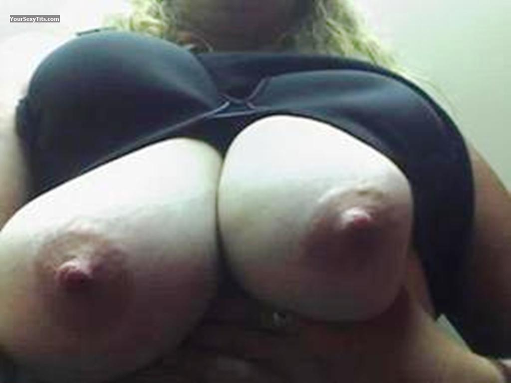 Tit Flash: My Very Big Tits (Selfie) - Gail from United States