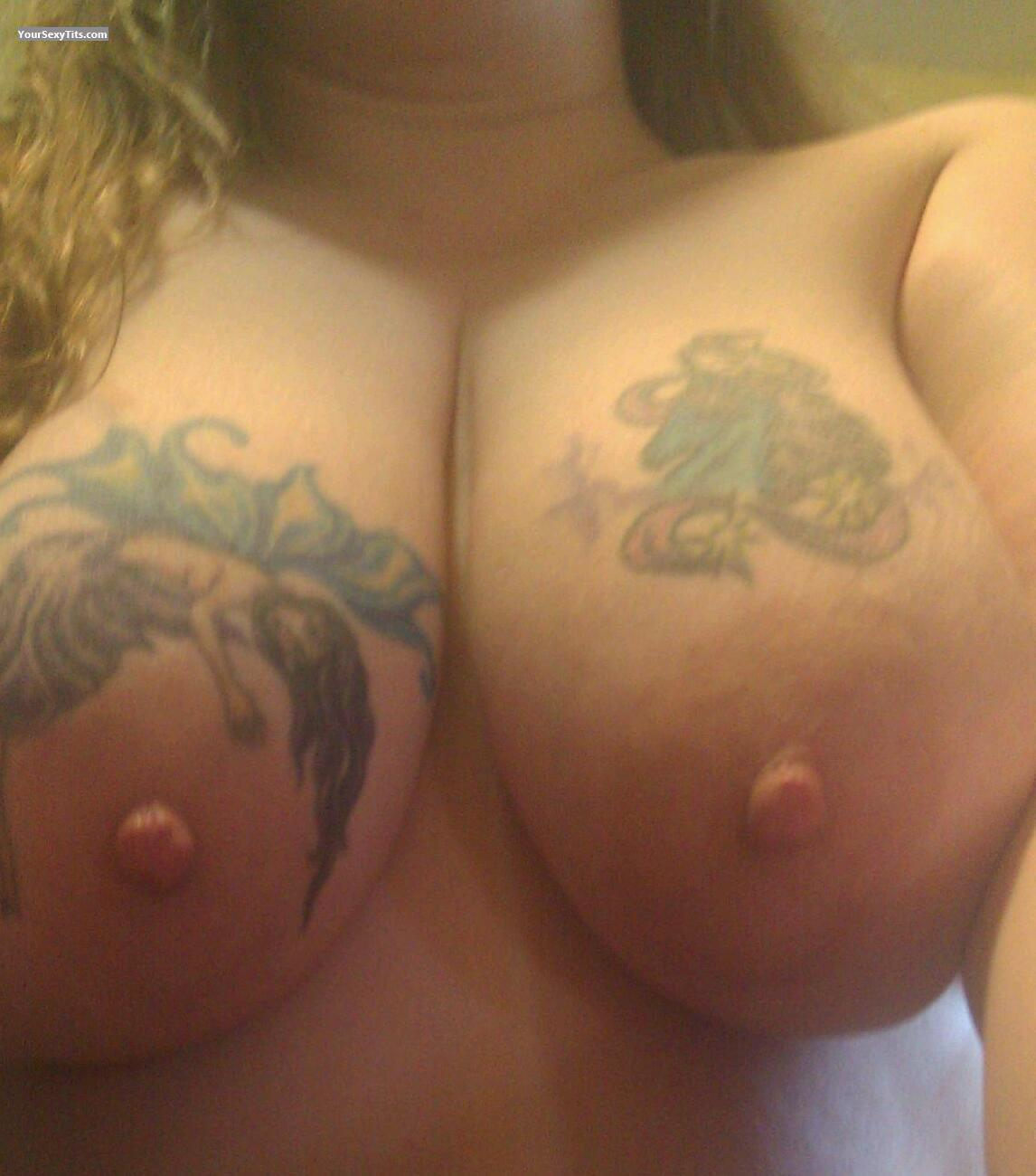 Tit Flash: My Very Big Tits (Selfie) - Titlover4u from United States