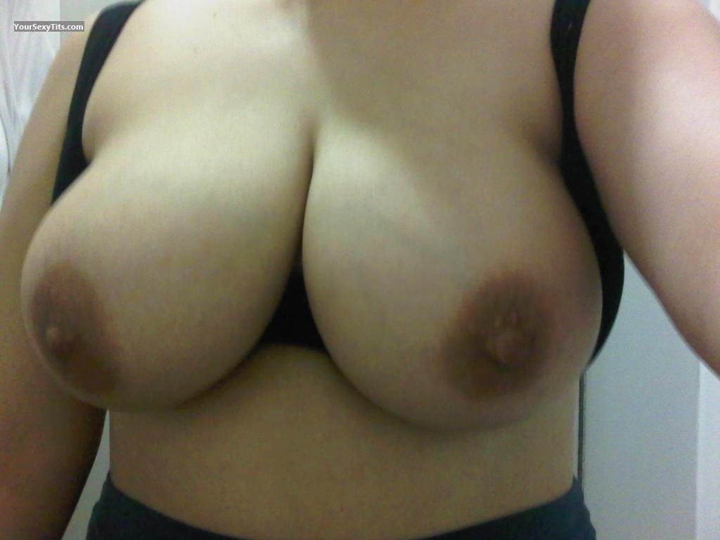 Tit Flash: My Very Big Tits (Selfie) - Lisa from Canada