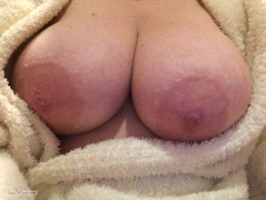 Very big Tits Of My Wife Selfie by Big Tits Blonde