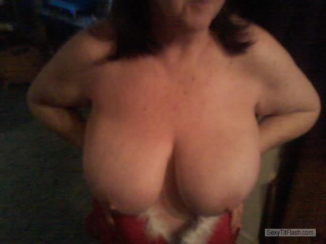 Very big Tits Of My Wife Debbies Juggs