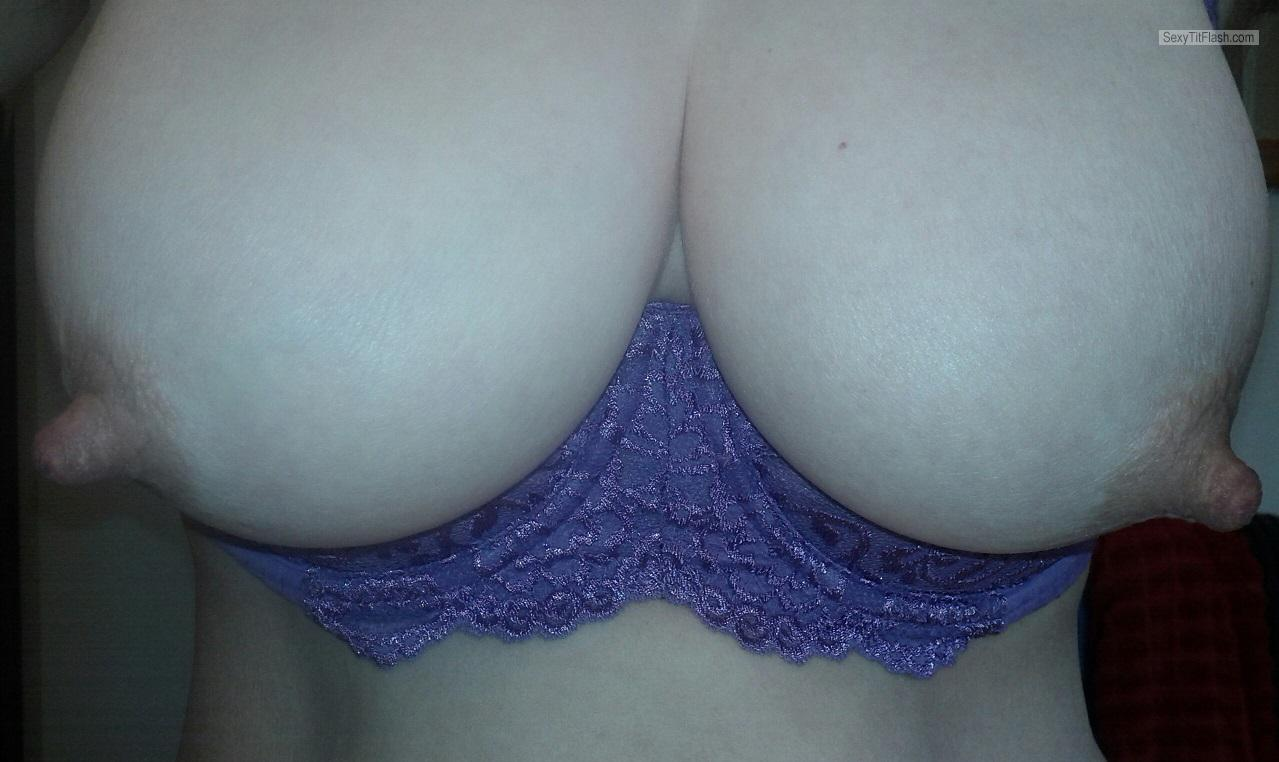 Tit Flash: My Friend's Very Big Tits (Selfie) - LovelyRack from Australia