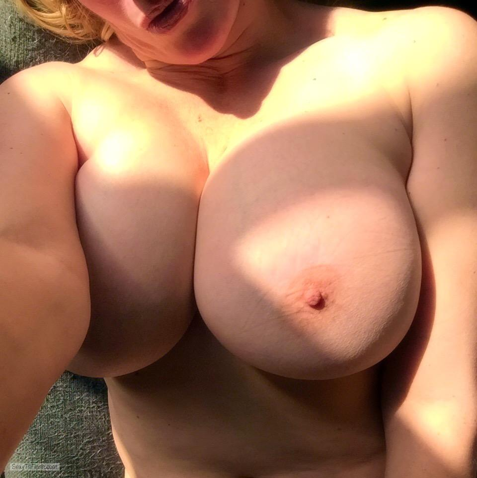 My Very big Tits Topless Selfie by Spacegirl