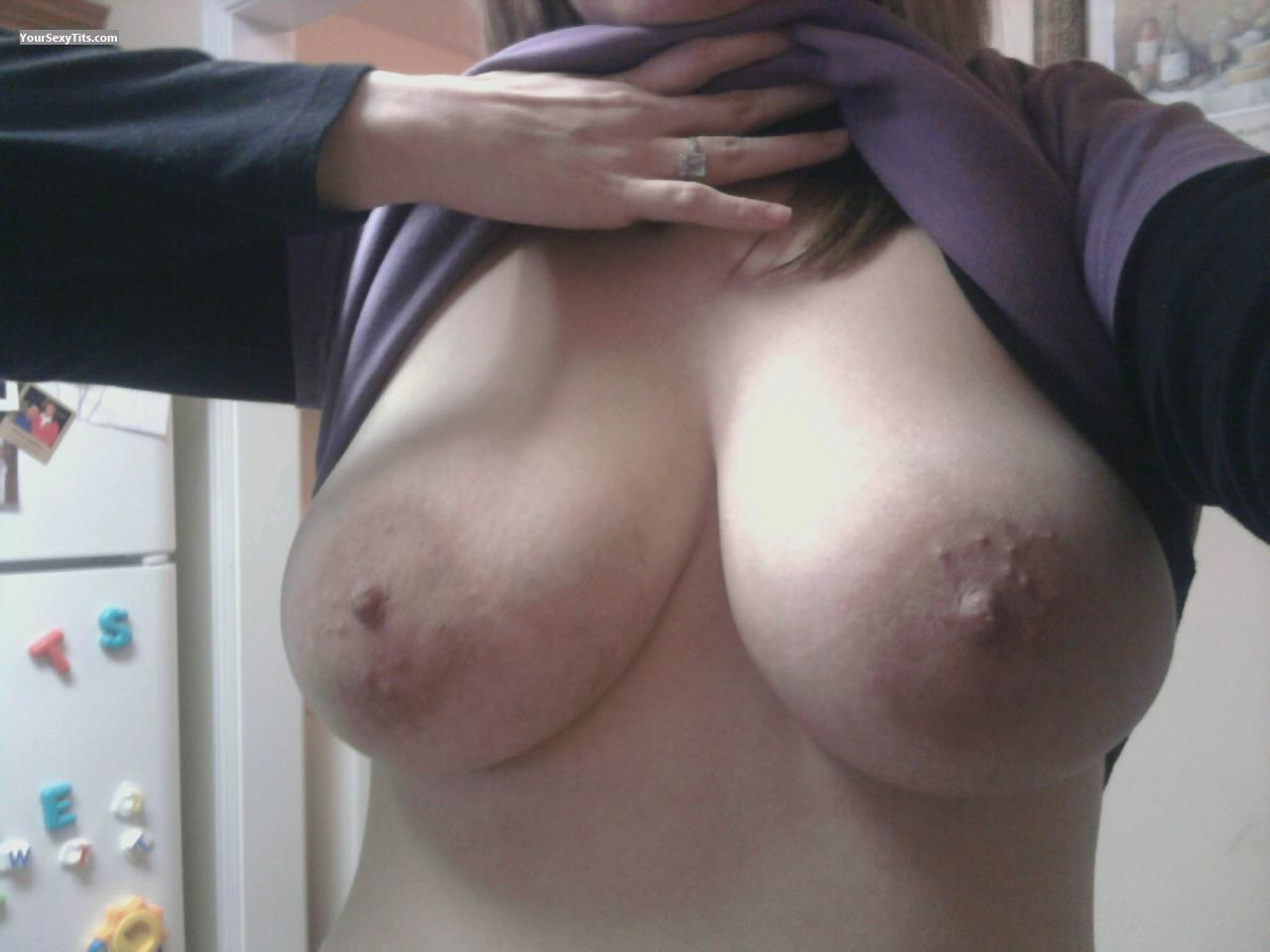 My Very big Tits Selfie by Pregnant Tits