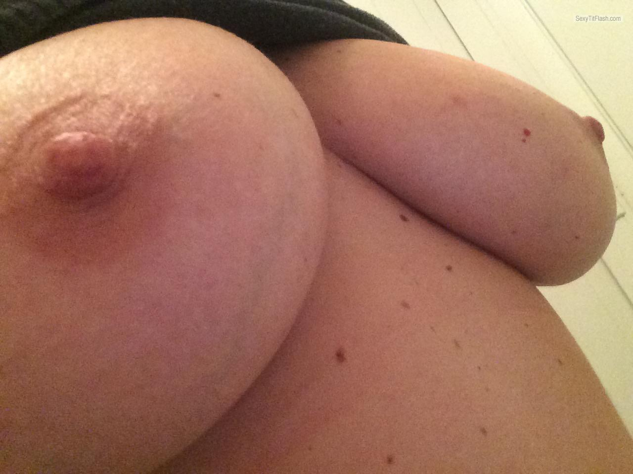 My Very big Tits Selfie by Big Natural