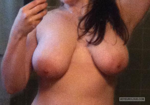 Medium Tits Of My Wife Selfie by Diana