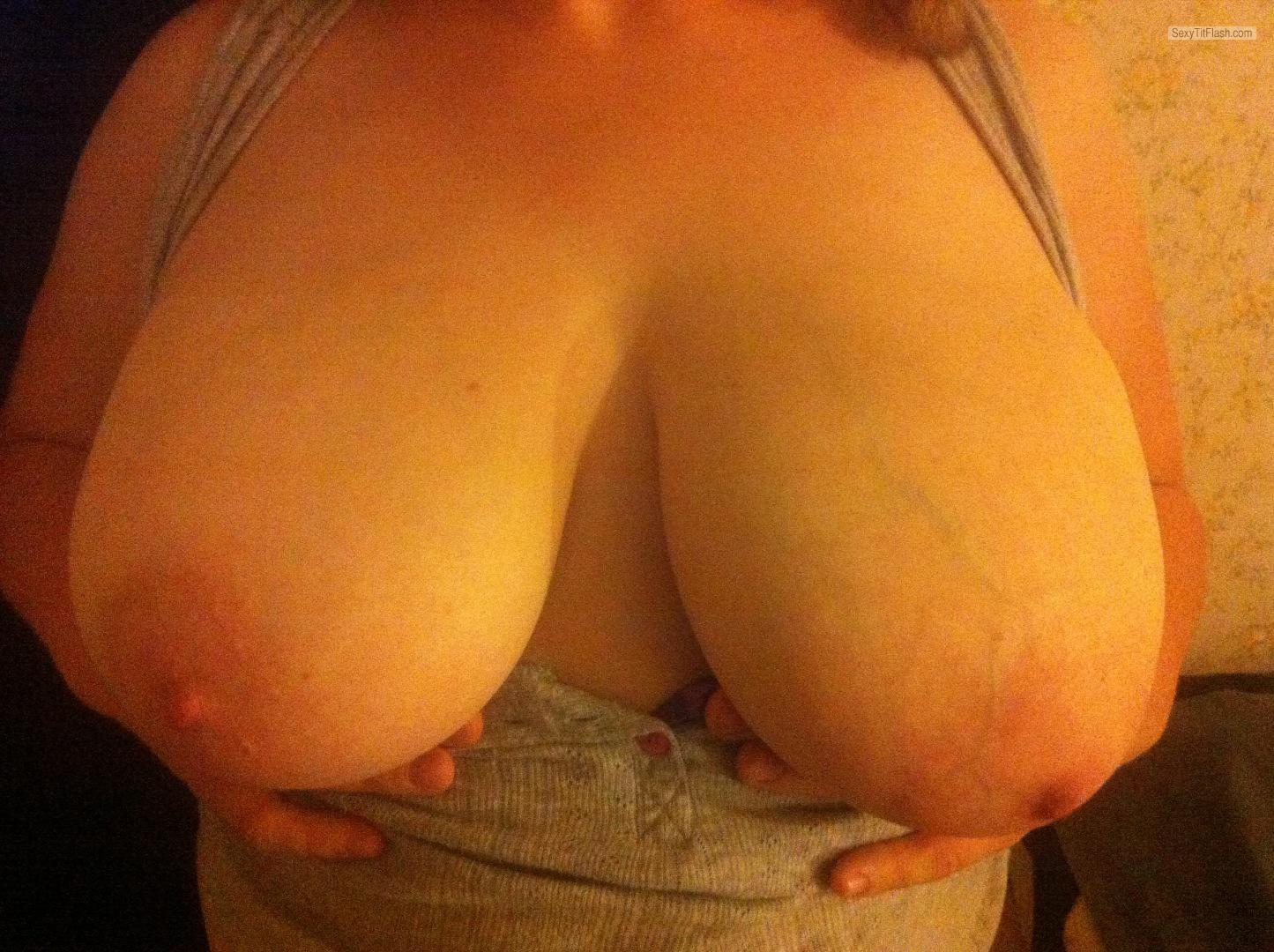 My Very big Tits Selfie by Bustytx