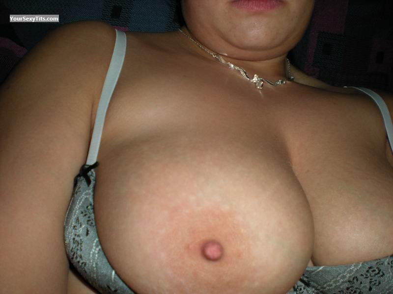 Tit Flash: My Very Big Tits (Selfie) - Giada from Italy