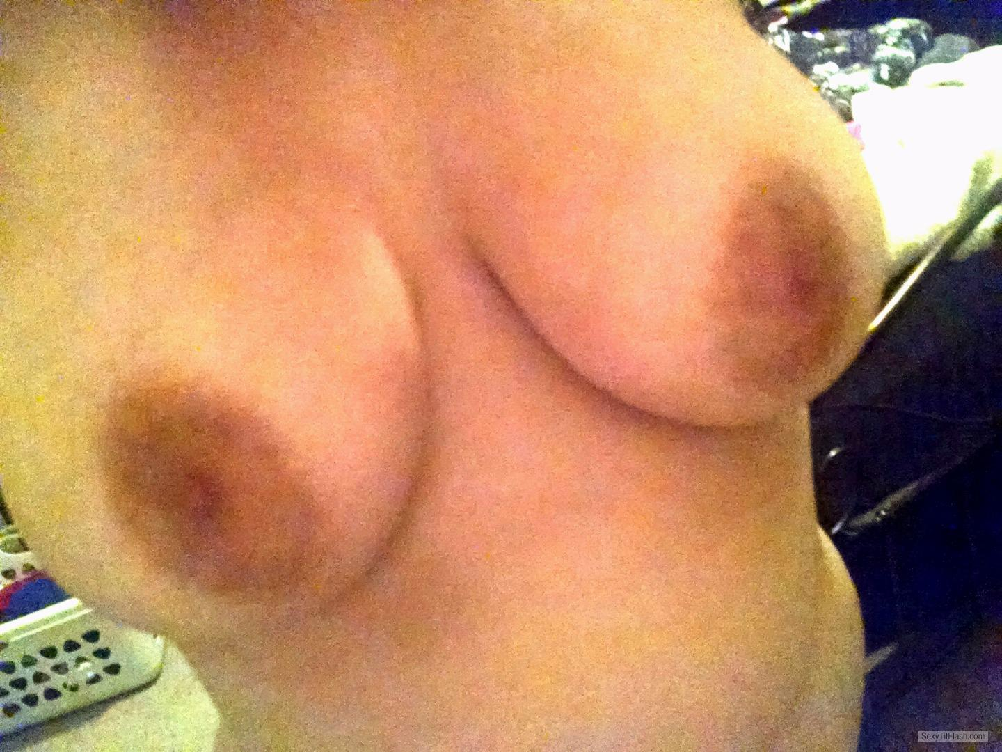 Very big Tits Of My Girlfriend Selfie by Zsaz
