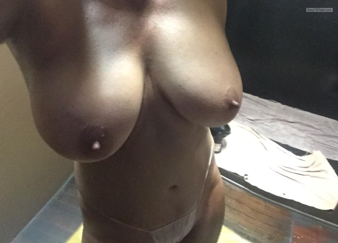 Very big Tits Of My Room Mate Selfie by Sunny