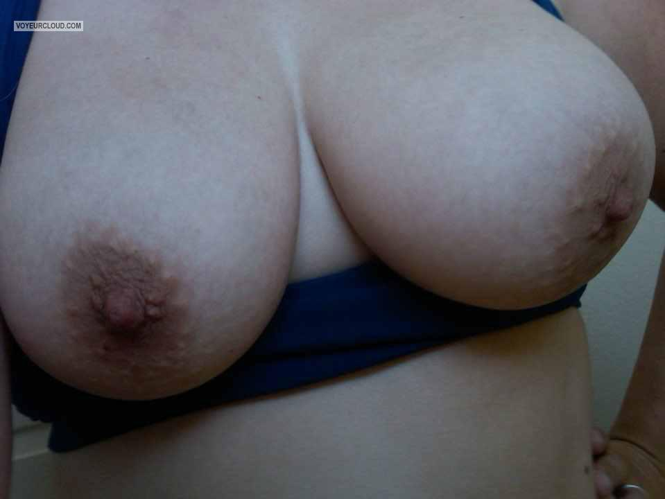 Very big Tits Of A Friend Selfie by Purple P
