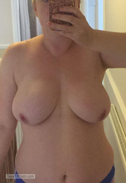 Tit Flash: My Very Big Tits (Selfie) - Sassy Sarah from United Kingdom