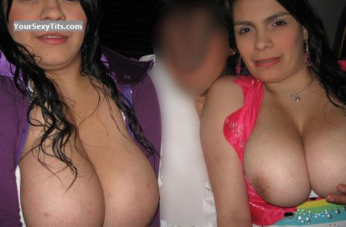 Very big Tits Colombians Girls