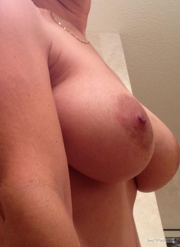 Tit Flash: My Very Big Tits (Selfie) - Mystery from United States