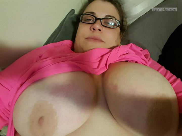 My Very big Tits Topless Selfie by Jackie30ny