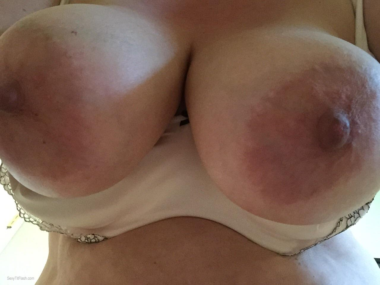 My Very big Tits Topless Selfie by Cammie
