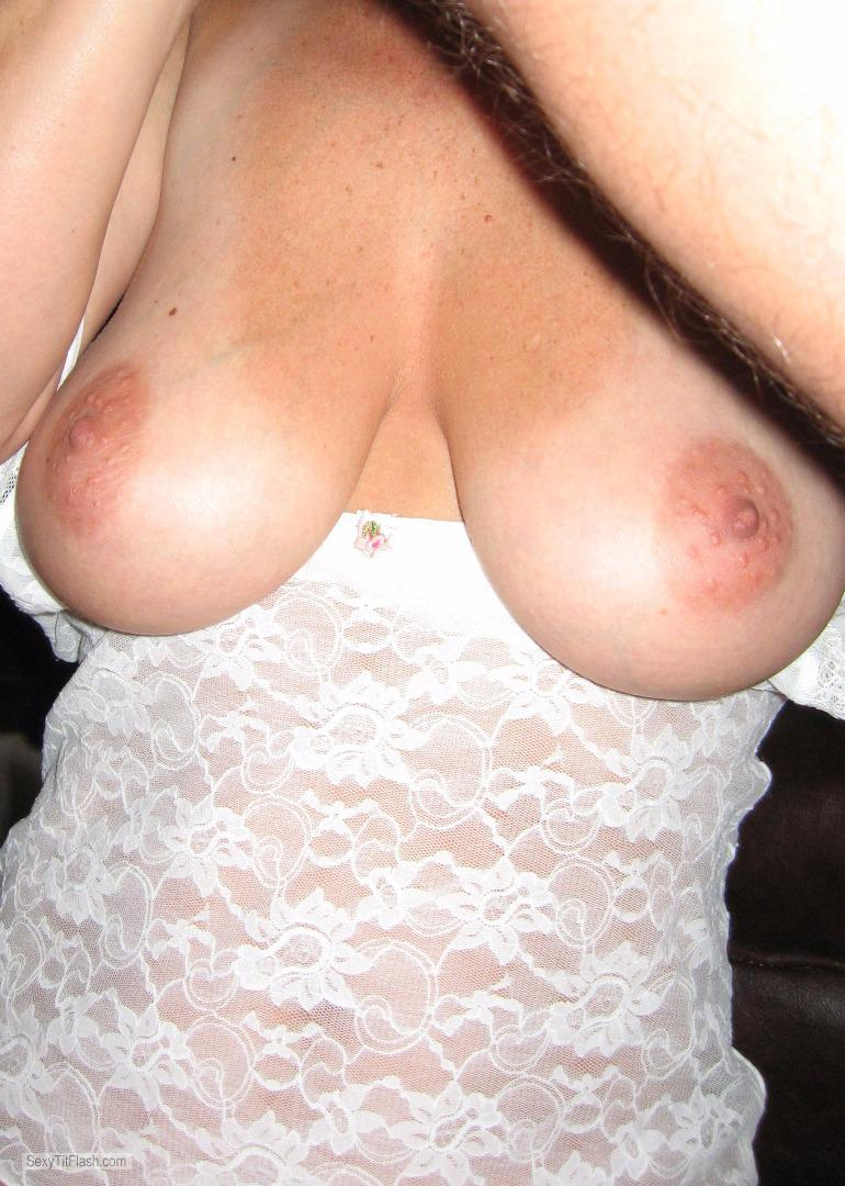 Very big Tits Of My Wife Hot Wife 34DD