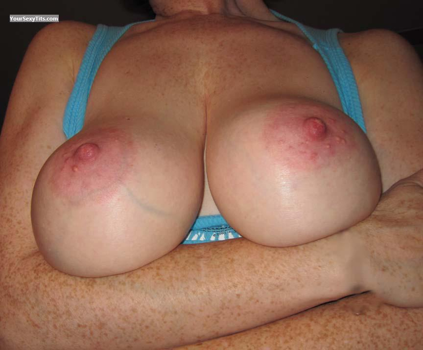Tit Flash: My Big Tits - PrettyNYC from United States