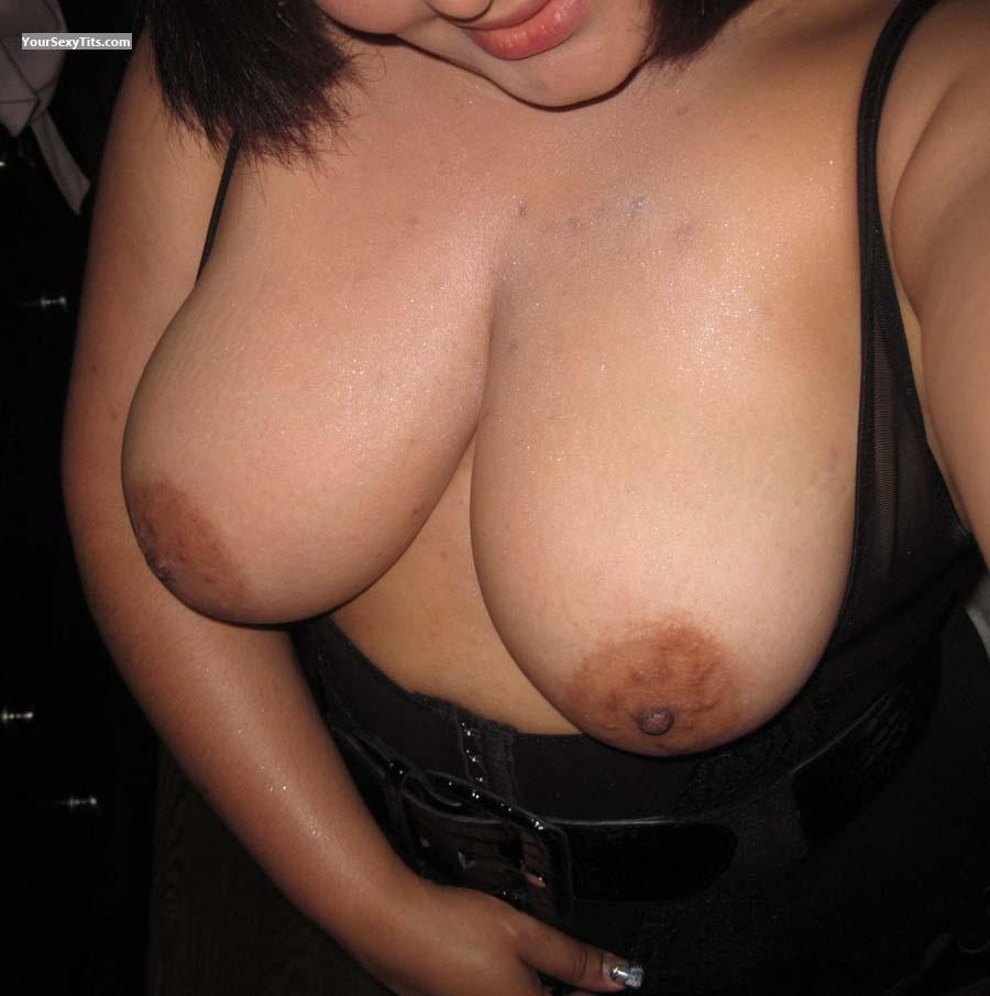 Tit Flash: My Very Big Tits (Selfie) - Morena from Dominican Republic