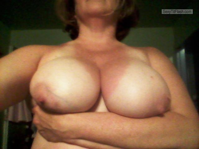 Very big Tits Of My Wife Selfie by Slut Wife