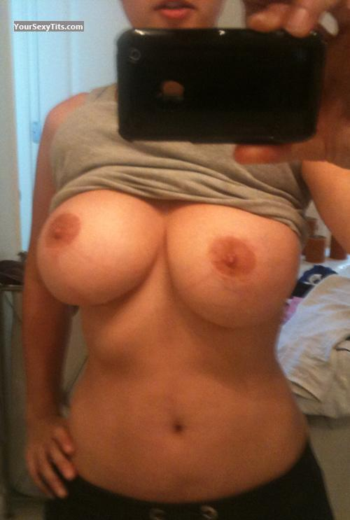 Tit Flash: My Very Big Tits (Selfie) - SexyMilf from United States