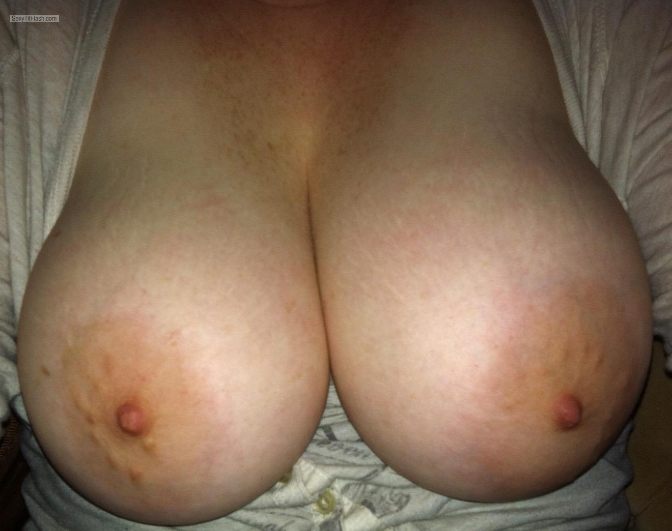 Very big Tits Of My Wife Sweet Areolas