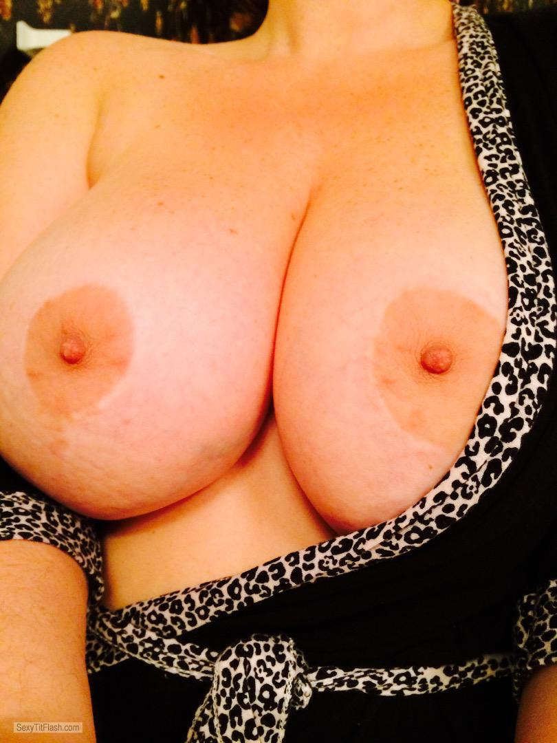 Tit Flash: My Very Big Tits (Selfie) - Rlo from United States