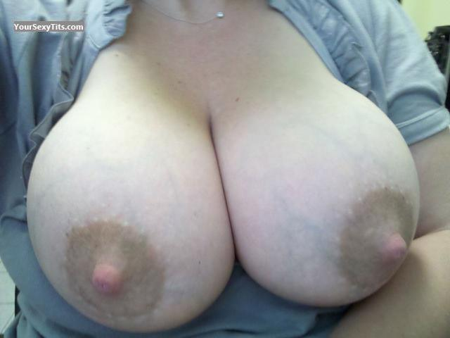 Tit Flash: My Very Big Tits (Selfie) - Calibabe77 from United States