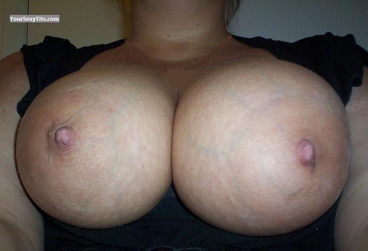 Tit Flash: My Very Big Tits (Selfie) - Bigguns from United States